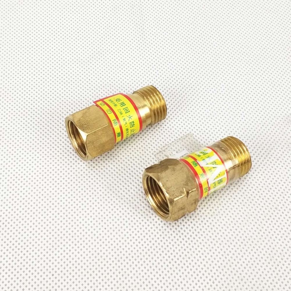 Flashback Arrestor Oxygen Aceylene Propane Gas M16x1.5mm Torch Mount Flame Buster Safe Vavle