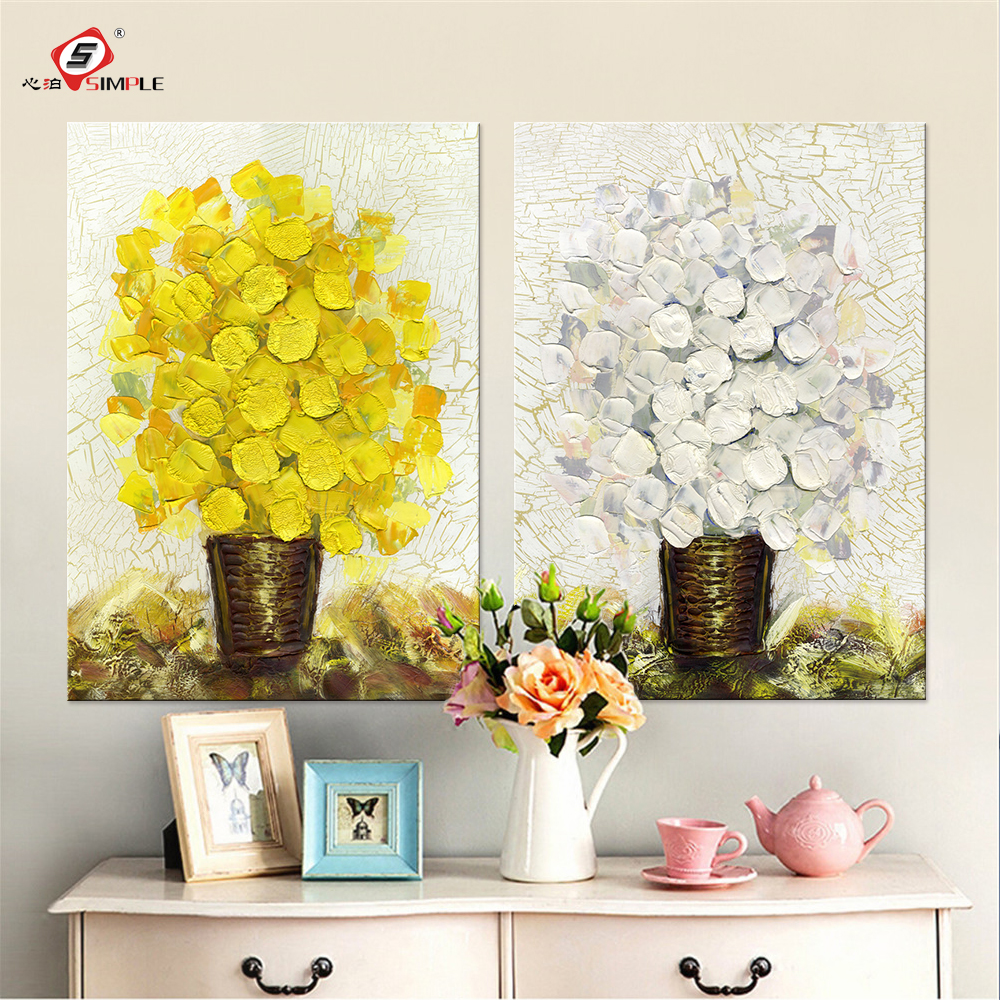 Canvas Art 2 Piece Wall Art Poster Canvas Pictures for Living Room ...