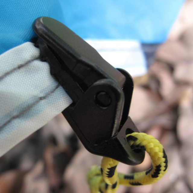 H999 Outdoor Camping tent pull hook linked to the wind-proof fixed with the inverted tent additional pull alligator clip
