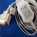 Заводская цена совместимый Nihon Kohden ECG/EKG кабель ECG-1250  ECG-1350  ECG-9101/9130/9132/9620 Din Тип без резистора ТПУ
