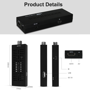 U2C DVB T2 Мини ТВ палка Youtube HDMI Wifi PVR H.264 1080P простая, чем Android цифровая тв приставка DVB-T2 тюнер для dvbt2 ТВ