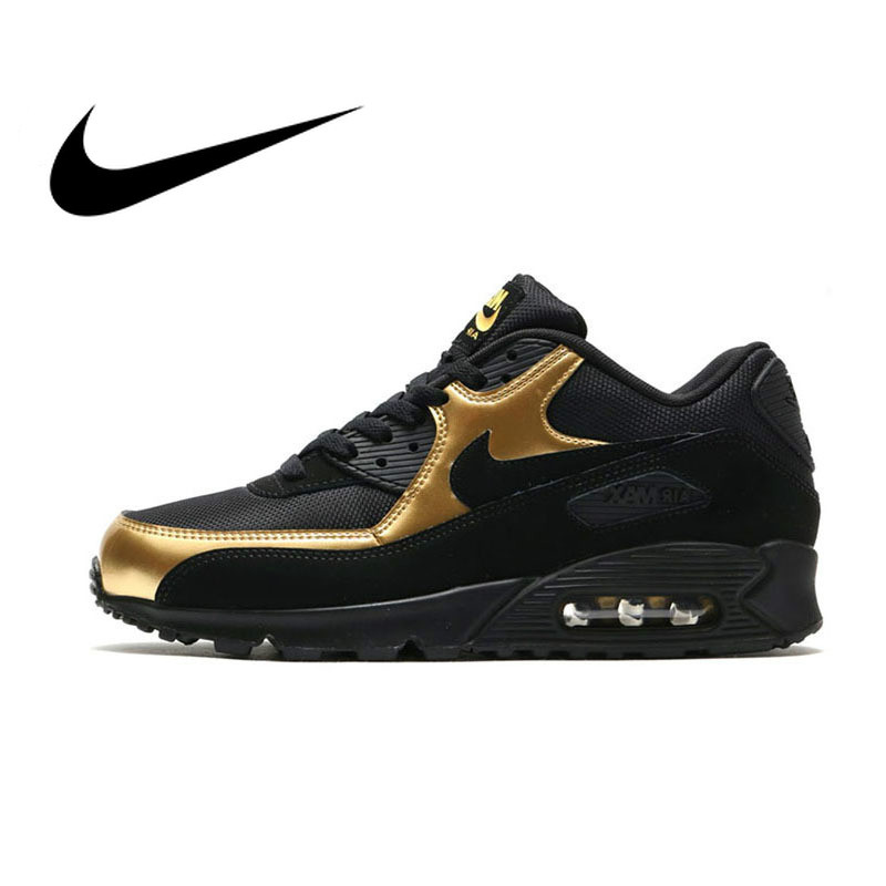 Original Authentic NIKE AIR MAX 90 Men's Running Shoes Breathable Sports Footwear Designer Outdoor Sneakers Training 537384058