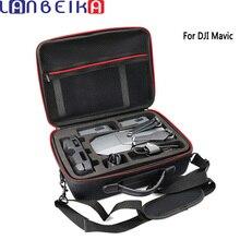 Lanbeika Hardshell плеча Водонепроницаемый Drone сумка нейлон Портативный случае Водонепроницаемый для dji Мавик Pro Platinum профессиональные