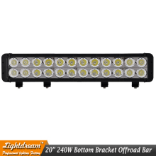 1pc of 240W led work light bar 20 off road 12V 24V 240w Extraljus For Truck CAR SUV ATV 4WD 4X4