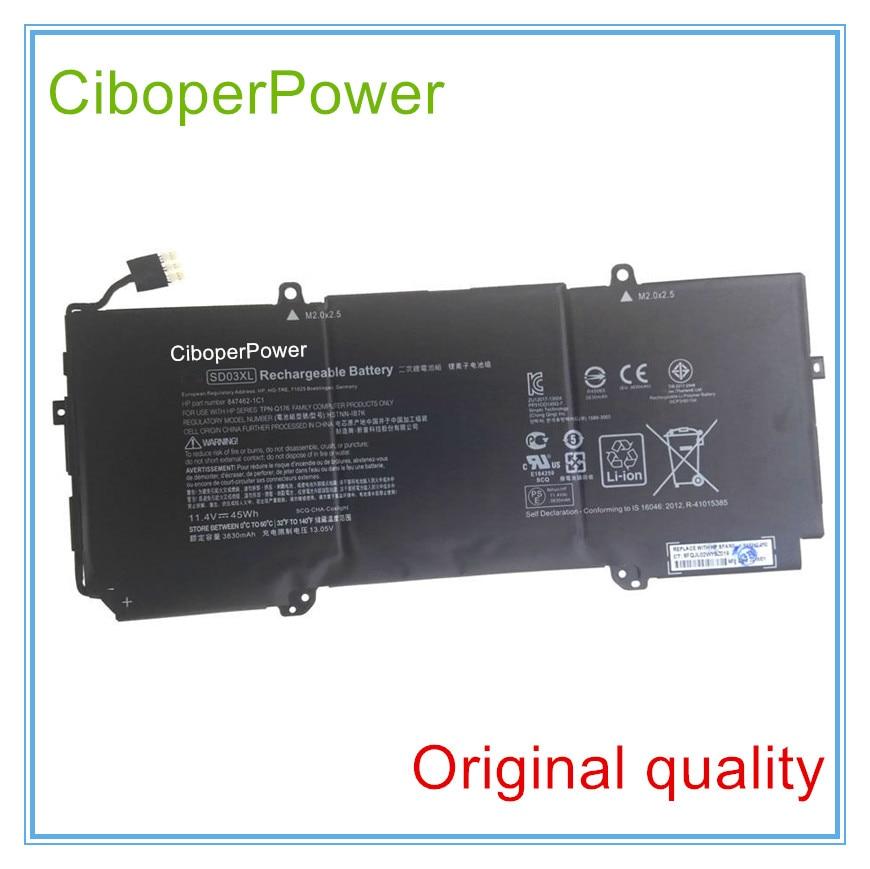 D'origine 11.4 V 45wh 3950 mAh batterie d'ordinateur portable SD03XL Pour Chromebook 13 G1