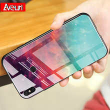 Luxury Colorful Phone Case For Xiaomi Mi 9T Pro Redmi 7 7A K20 Pro Glass Cover For Xiaomi 6 8 9 SE A1 A2 Lite Pocophone F1 Coque for xiaomi redmi note 7 6 5 k20 pro 6a 5 plus case gradient tempered glass cover for xiaomi pocophone f1 mi 9 9t 8 se a2 lite a1