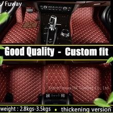 Пользовательские fit3D Автомобильные коврики для Mercedes Benz C W204 W205 E W211 W212 W213 S class CLA GLC МЛ GLE GL ковровое покрытие лайнер