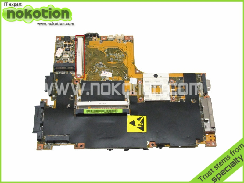 NOKOTION laptop motherboard for lenovo ideapad Y510 NS1Q86L20600282 GM45 DDR2 with graphics slot  free shipping warranty 60 days 45 days warranty laptop motherboard for asus k53b la 7322p with 4 video chips non integrated graphics card 100
