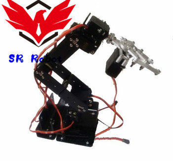 6 Dof Robot Arm Mechanical Claw Large Metal Base with Optional MG996R DS3218 Servo DIY RC Toy Robotic Manipulator Paw