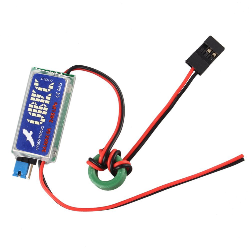 5V / 6V HOBBYWING RC UBEC 3A Max 5A Lowest RF Noise BEC Full Shielding Antijamming Switching Regulator New Sale