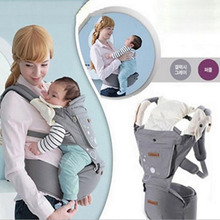 HOT Multifunction Outdoor Kangaroo Baby Carrier Sling Backpack New Born Baby Carriage Hipseat Baby Sling Wrap Summer and Winter