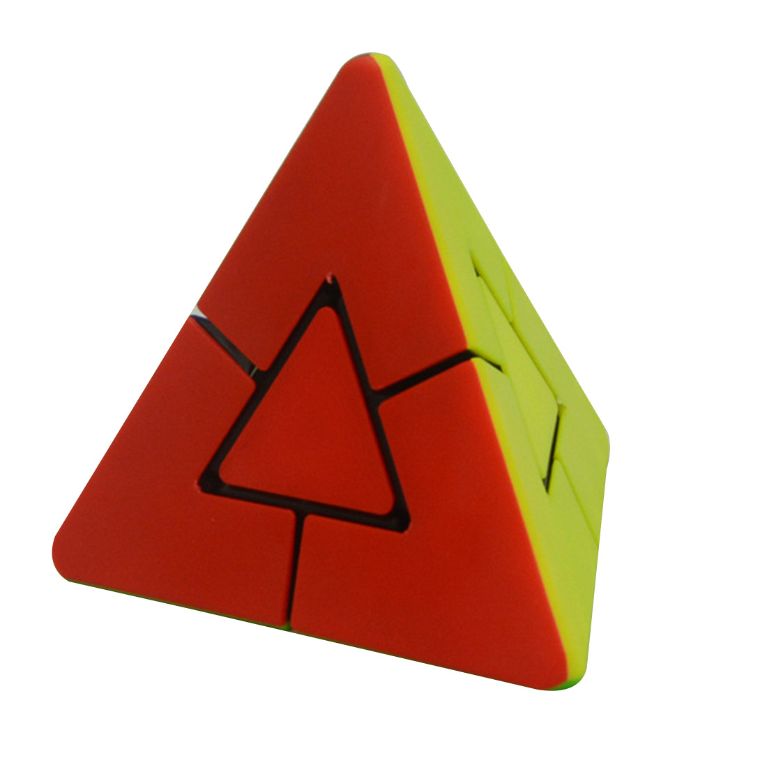 Lefang 2x2 Strange Shape Pyramid Magic Cube Brain Teaser Puzzle Cube Educational Toy yj brain teaser 2 x 2 x 2 magic iq cube multicolored
