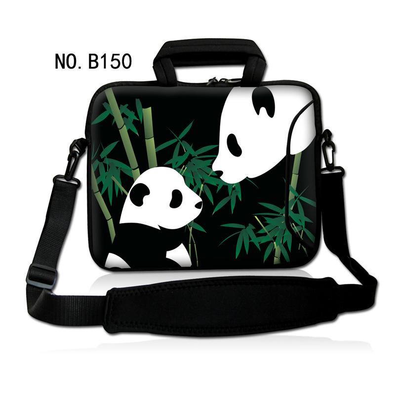 Lovely Panda 13 14 15 17 15.6 inch casual Computer laptop notebook bags case messenger S ...