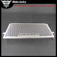 CNC Stainless Steel Motorcycle Radiator Grille Guard Cover Protector For Kawasaki VULCAN S 15 16 VULCAN 650