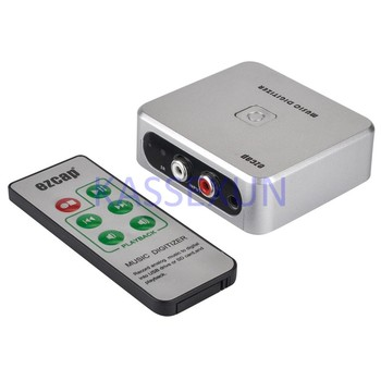 2017 new audio capture card, convert old analog music to MP3, and save into USB drive or SD card directly, Free shipping цена 2017