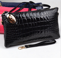 new European and American women crocodile shoulder bag Mobile Messenger bag ladies genuine leather bag free shipping dh132
