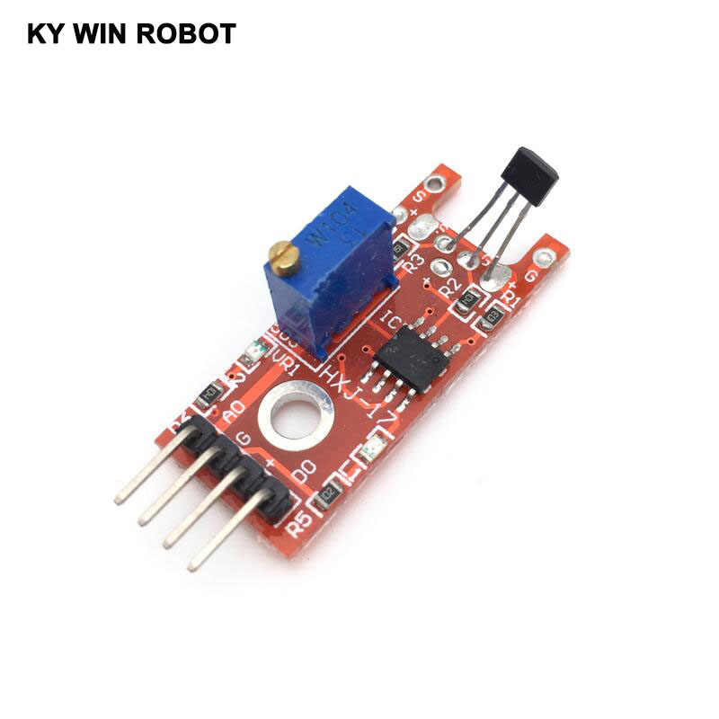 Smart Electronics 4pin KY-024 Linear Magnetic Hall Switches Speed Counting  Sensor Module for arduino DIY Kit