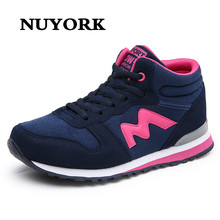 NUYORK New Shoes Autumn Women's Soft Fashion Breathable Lady High Quality Leisure lady Fitness Casual sneakers Thick Soled Shoe
