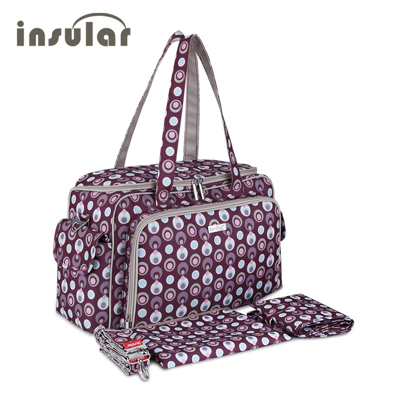 INSULAR baby bag Baby Organizer Diaper Bags for mom Stroller bags Nappy Bag diaper font b