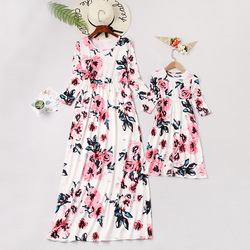 floral dress mommy and me clothes family look mother daughter dresses mom mum and girls matching outfits spring dresses clothes