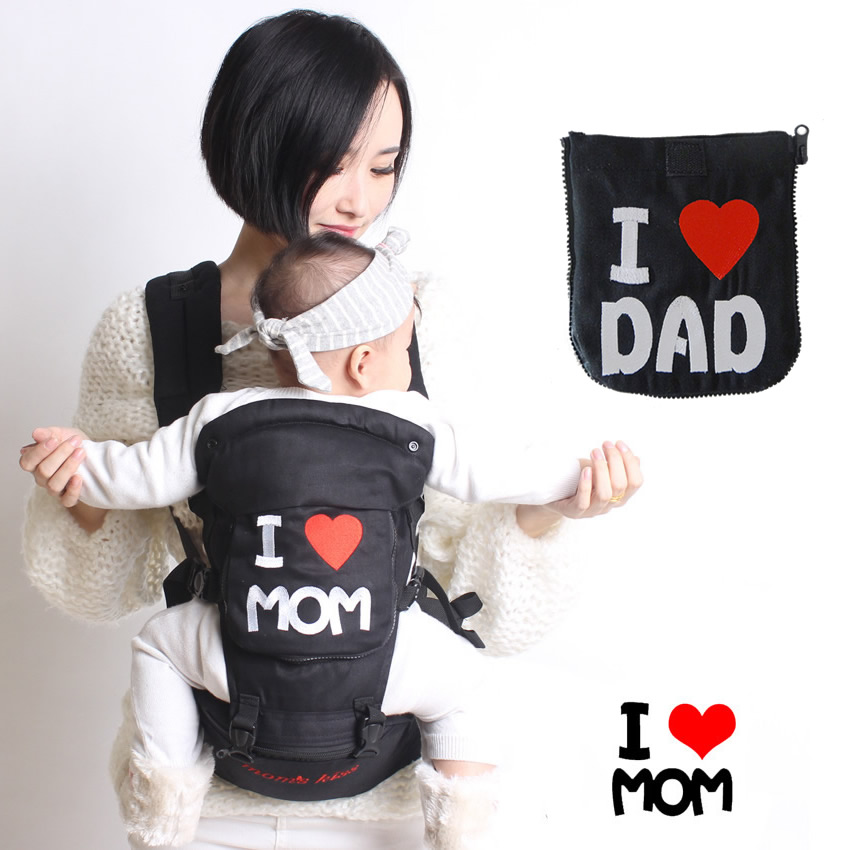 New Brand Baby Carrier Cotton Baby Slings Breathable Hipseat Backpack for Children Ergonomic Baby Carrier Backpack BD100 hot baby carrier infant hipseat backpack children s backpack multifunction slings for babies cotton baby hipseat mochilas pt427