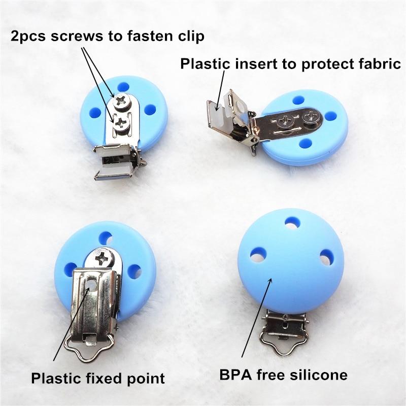 Chenkai 10PCS BPA Pa pagesë DIY Rimëkëmbës Silikoni për - Të ushqyerit - Foto 4