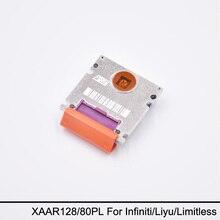 Оригинальный Новый Xaar 128 80PL Печатающей Головки (Фиолетовый) для Infiniti/Liyu Принтер Большого Формата