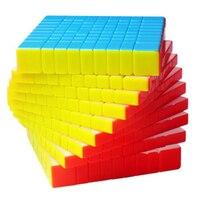 Профессиональные 9*9*9 9 слоев магические кубики 9x9x9 ShengShou HuangLong кубар Рубик на скорость игрушки для детей 9 см