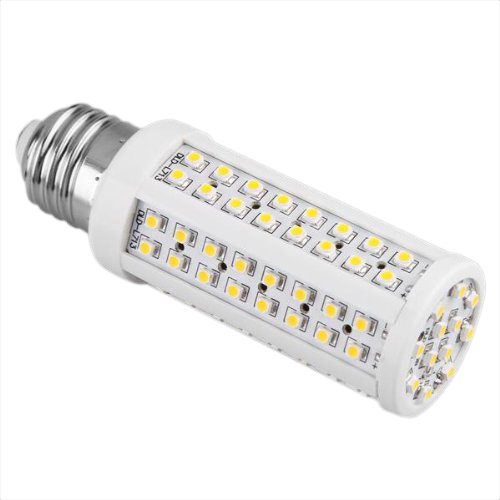 Light Bulbs Lamp E27 108 Smd Led Warm White 3600k 5w