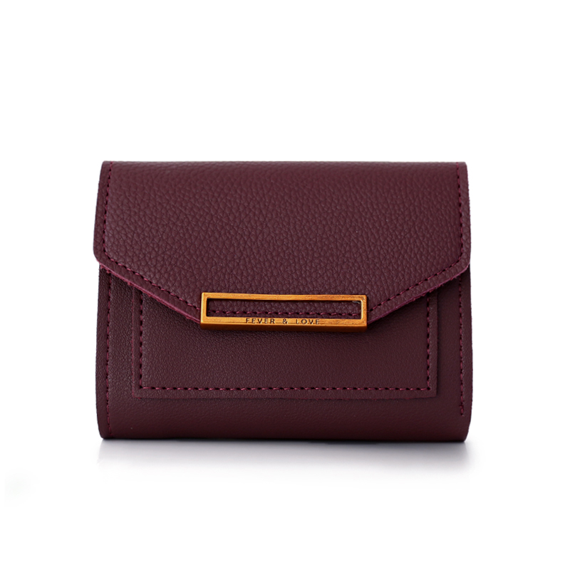 Latest wallets Slim Women short card holder rfid wallet lady travel feminina clutch high capacity Cheque mini zipper coin purse