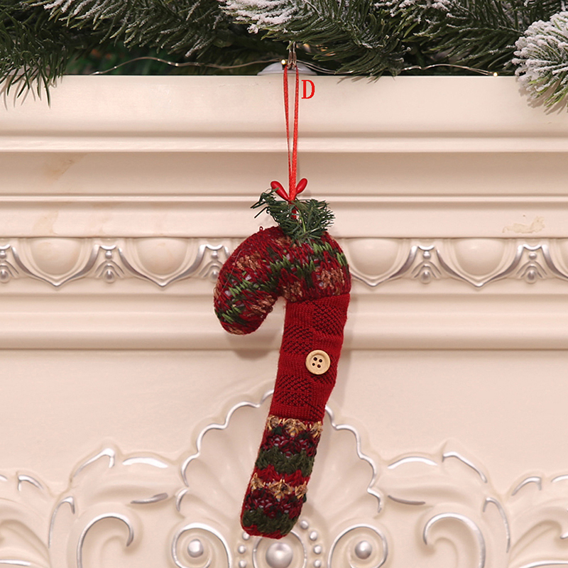 1pc Christmas Hanging Door Plate Pendant Christmas Tree DecorationDecoration for Home Mixed Christmas Pendan Ornaments