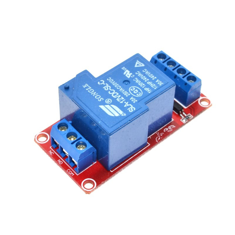 12V 30A 1-Channel Two-way Isolation Relay Module 8