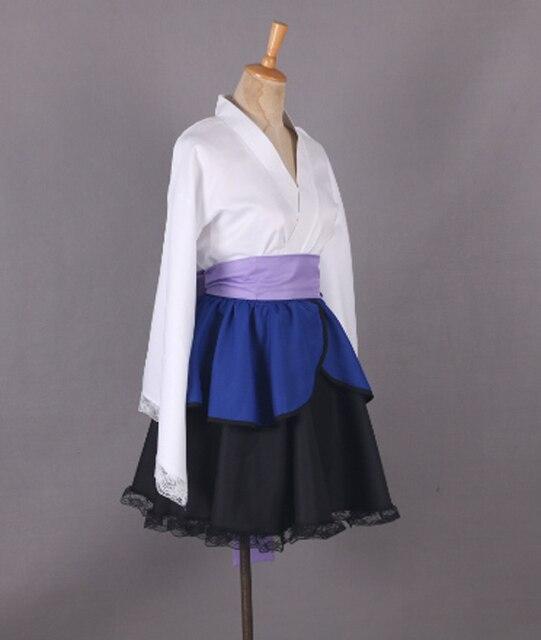 Naruto Shippuden Uchiha Sasuke Female Lolita Kimono Dress Anime