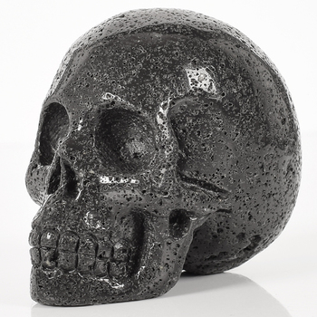 Stunning Volcanic Stone Skull Figurine 1