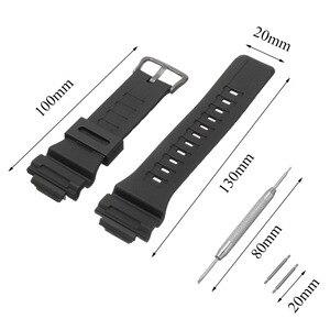 Ремешок для часов из смолы, силиконовый резиновый ремешок для часов, ремешок для часов Casio G Shock AQ/SGW/AE /W/F, 18 мм, браслет для часов