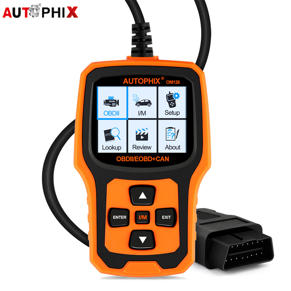 Auto OBD2 Diagnostic Tool OBD2 Automotive Scanner Autophix OM126 Auto Code Reader Scanner OBDII Engine Scanner Fault Code Reader launch x431 obd2 automotive diagnostic scanner obd2 bluetooth adpater mdiag elm327 update online enhanced code reader