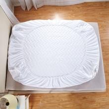 Personalizable acolchado protector de Colchón Cubierta con Caucho/relleno/almohadilla fina de algodón de lijado para de cuatro Estaciones colchón topper