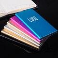 2016 Новый Ультра-тонкий Металлический 20000 мАч Полимерный Аккумулятор Зарядное Устройство для Мобильных Устройств Dual USB Power Bank для iPhone HTC iPad Черный