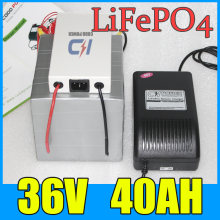 Аккумулятор lifepo4 36 в 40 Ач литиевая батарея 1500 Вт для