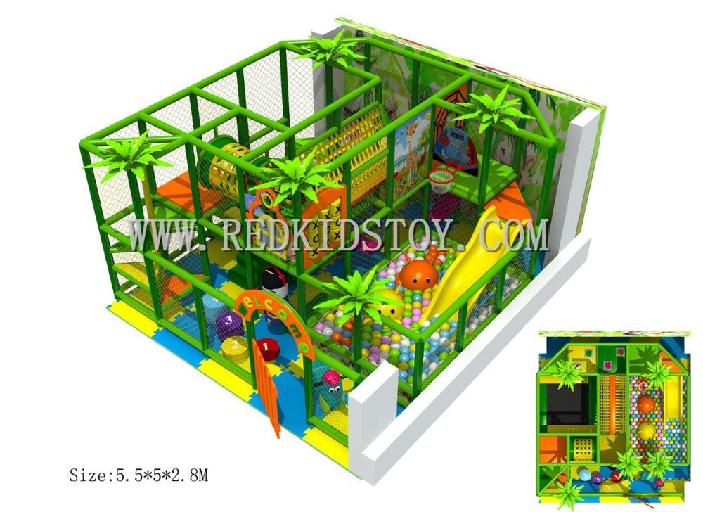 Parque De Juegos Infantil directo De fábrica con certificación CE HZ-5819 interior