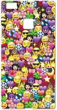 Printed Funny Emoji Plastic Hard Cell Phone Cover For Huawei Honor 6 7 6X Ascend P6 P7 Mini P8 P9 Lite Mate 7 8 Mobile Case