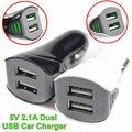BrankBass 3.1A Cargador Dual Del Coche Del USB de 2 Puertos cargador Universal de Carga Rápida para iphone 4 5 5s 6/ipad/htc para samsung note3/4 cargador usb