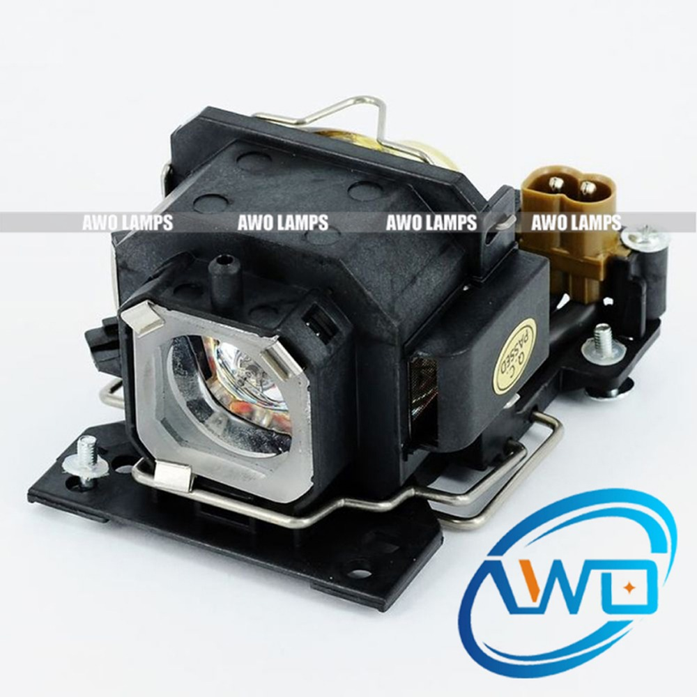 AWO Replacement Projector Lamps DT00821 CPX5LAMP with High Quality Bulb Inside for HITACHI CP-X264/x3//x5/X3W/x5w high quality brand new projector bare bulb dt00821 for hitachi cp x5 x3 x264 x3w x5w x6 x6w projector 3pcs lot