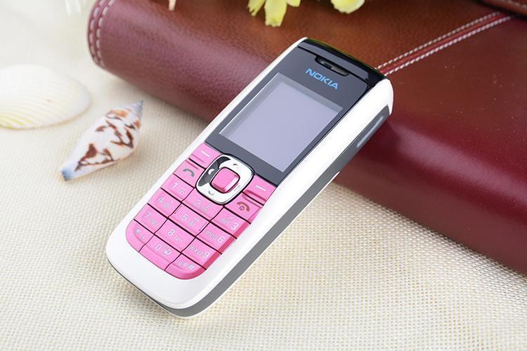 Refurbished Original Unlocked Nokia 2610 the Cheapest multi-language Cellphone white 12