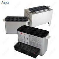 Automatique électrique ou LPG gaz multifonctionnel oeuf saucisse rouleau fabricant chaudière cuisinière Machine dix tubes en acier inoxydable oeuf frit