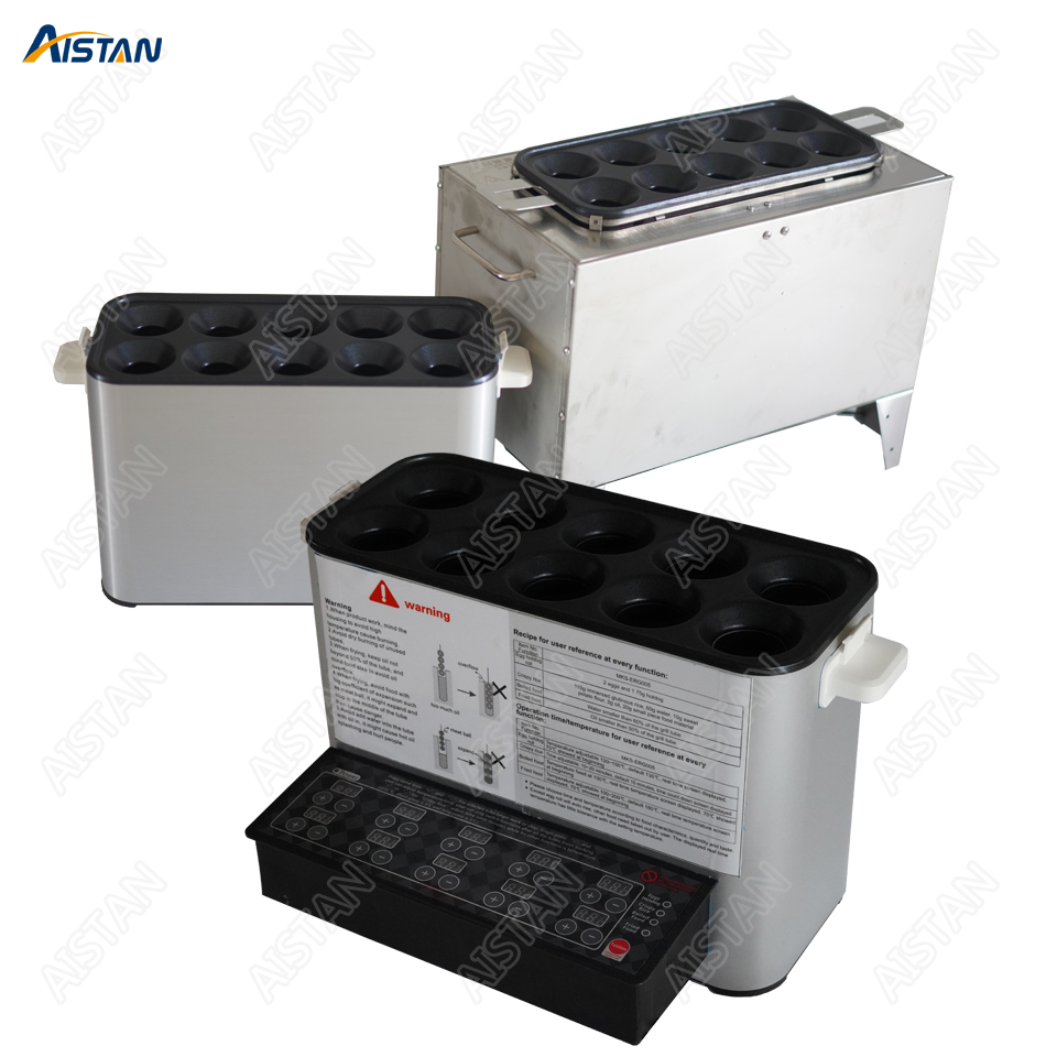 SYJ11 électrique ou LPG gaz multifonctionnel oeuf saucisse rouleau fabricant chaudière cuisinière Machine dix tubes en acier inoxydable oeuf frit-in Multicuiseurs from Appareils ménagers    1
