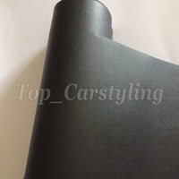 1.52x30m Sandy Black Vinyl Car Wrap Sticker with Air bubble Free Decal CARS * LAPTOPS * FURNITURE Self adhesive PROTWRAPS