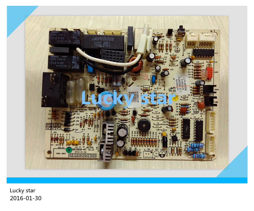 95% new for Gree Air conditioning computer board circuit board M826F3 GRJ809-A7 30138219 good working 95% new for haier refrigerator computer board circuit board bcd 198k 0064000619 driver board good working