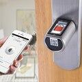 L6SRB WELOCK Bluetooth Inteligente Bloqueio Eletrônico Do Cilindro Impermeável Ao Ar Livre Scanner Biométrico de impressões digitais Fechaduras sem chave