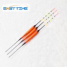Easy Time 3pcs/Lot Fishing Float 3 Full Luminous Electronic Floats, Orange Floats For Fishing, Fishing Bobbers